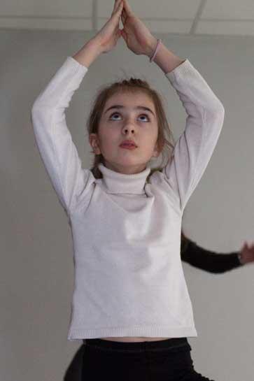 Yoga pour enfants Ciara