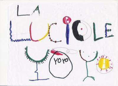 Dessin d'enfant Yoga Lalucioleyoyo